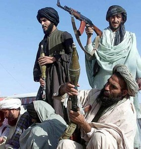 Taliban use cell phone