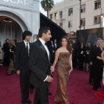 Abhi and Ash at the Oscars